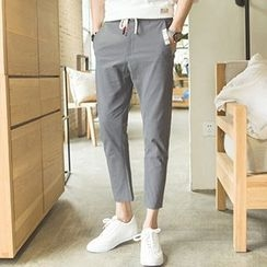 Gurun Vani - Linen Cotton Capri Pants