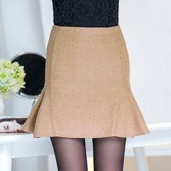 潞依韓 - 純色魚尾裙