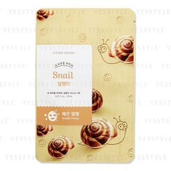 Etude House - New I Need You, Snail! Mask Sheet