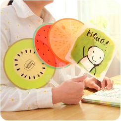 Good Living - Print Plastic Hand Fan