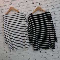 Prima Donna - Striped Long-Sleeve T-Shirt