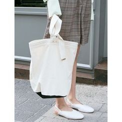 FROMBEGINNING - Canvas Tote with Pouch