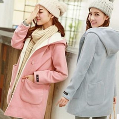 Rocho - Plain Hood Coat