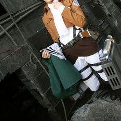 Flamo - 角色扮演服裝 - 進擊的巨人 里維阿卡曼