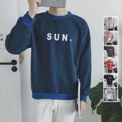 Real Boy - Lettering Pullover