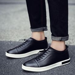 HANO - Plain Lace Up Sneakers