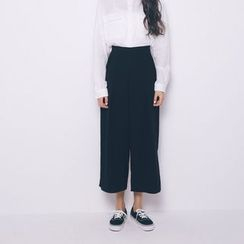 Porta - Cropped Wide Leg Pants