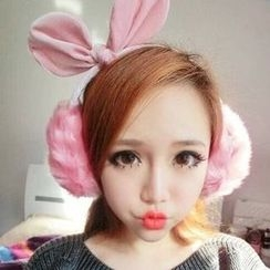 INKLEE - Bow-Accent Earmuff