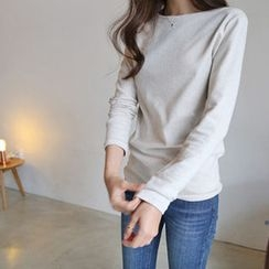 Hello sweety - Long-Sleeve Plain T-Shirt