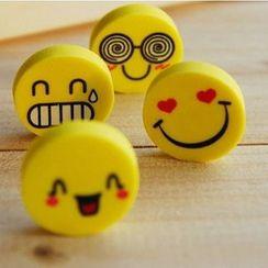 Lover's Kiss - Set of 4: Emoji Eraser