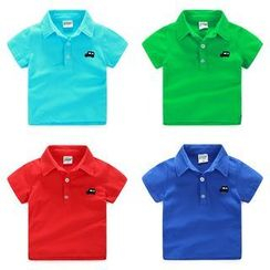 WellKids - Kids Short-Sleeve Embroidery Polo Shirt