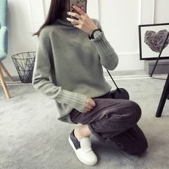 Qimi - 高領毛衣