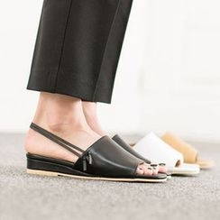 VIVIER - Open-Toe Ankle-Strap Sandals