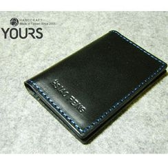 YOURS - Customizable Genuine-Leather Card Holder