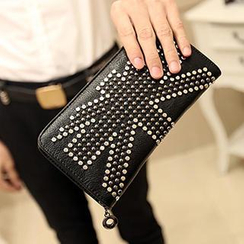 BagBuzz - Studded Long Wallet