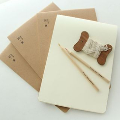 Show Home - Plain Medium Notebook