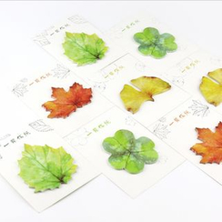 YUNO - Leaf Sticky Notes