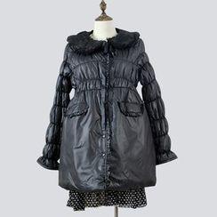 Kream - Maternity Puffer Buttoned Coat