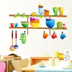 LESIGN - Kitchenware Wall Sticker