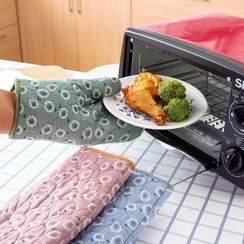 Home Simply - Floral Oven Mitten (1pc)