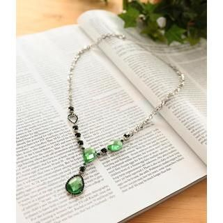 Petit et Belle - Rhinestone Necklace