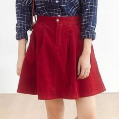 Forest Girl - Corduroy A-line Skirt