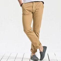 PROBOSCIS - Plain Straight Pants