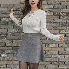 clubber - A-Line Miniskirt