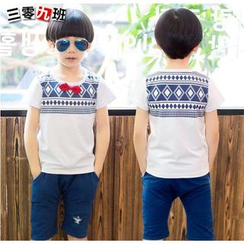 Lullaby - Kids Set: Print T-Shirt + Shorts