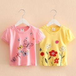 Seashells Kids - Kids Printed Short Sleeve T-Shirt
