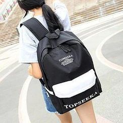 Top Seeka - 印字轻型背包
