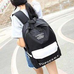 Top Seeka - 印字輕型背包