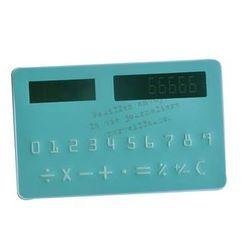 ioishop - 太陽能計算器 - 藍色