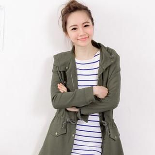 D.P-Shop - Drawstring Waist Jacket