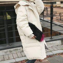 DABAGIRL - Hooded Long Duck-Down Puffer Coat