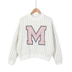Momewear - Long-Sleeve Striped Top