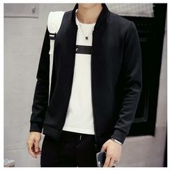 Fisen - Plain Zip Jacket