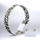 Mohzy - Mohzy Loop USB to Micro-USB Cable (Zebra) (With Adapter)