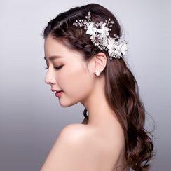 Suaylla - Bridal Floral Hair Clip