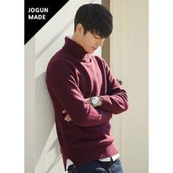 JOGUNSHOP - Turtle-Neck Wool Blend Sweater