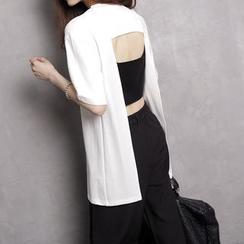 Sonne - Open-Back T-Shirt