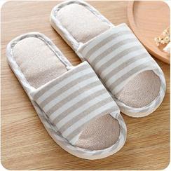 VANDO - 條紋拖鞋