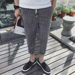 JORZ - 七分条纹哈伦裤