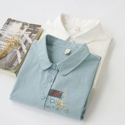 Jill & Jane - Long-Sleeve Printed Shirt
