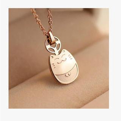 Nanazi Jewelry - Lucky Cat Necklace