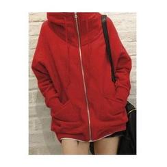Rocho - Hidden Hood Zip Jacket
