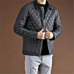 THE COVER - Snap-Button Quilted Jacket