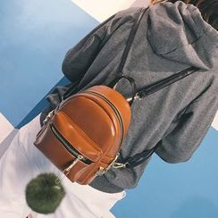 Hase Babe - Studded Pompom Backpack