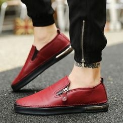 Preppy Boys - Zip Slip-On Sneakers