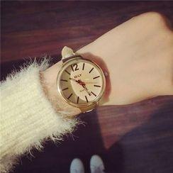 Honey Bee - Thin Strap Watch